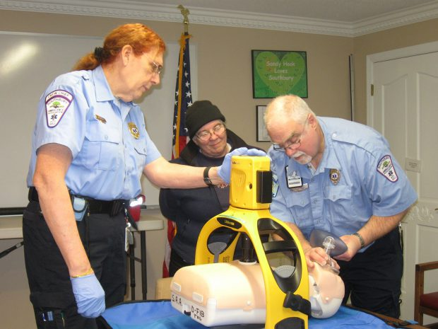 Southbury Ambulance Association Purchased Lifeline ARM Device